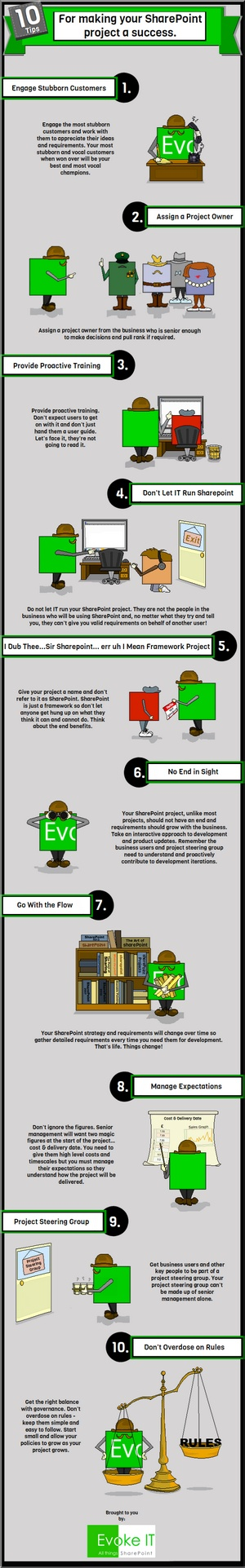 Infographic - How to Make Your Project a Success