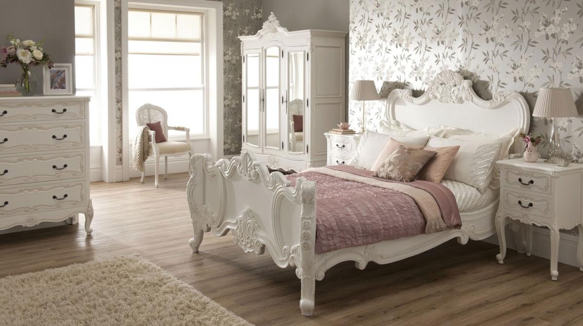 Shabby Chic Bedroom Layout