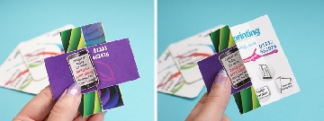 folding flyer