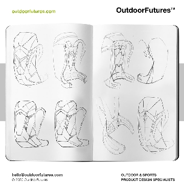Outdoor Futures - Lowe Alpine AirZone - Sketches