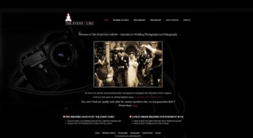 Website for The Event Guru London