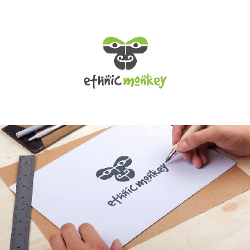 business-logo-design-ethnic-monkey