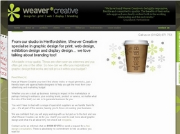 https://www.weavercreative.co.uk website