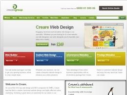 http://www.creare.co.uk website