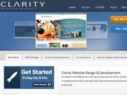 https://www.clarity-ventures.com/ website
