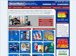 https://www.discountdisplays.co.uk website