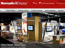 https://www.nomadicdisplay.co.uk/exhibition-stands/ website