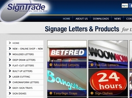 http://www.signtrade.co.uk website