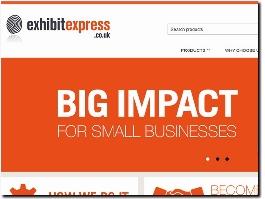https://www.exhibitexpress.co.uk/ website