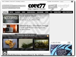 http://www.core77.com/ website