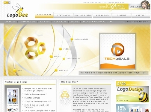 https://www.logobee.com/ website