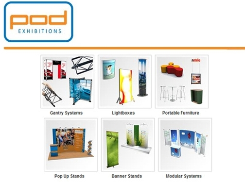 https://www.pod-exhibition-systems.co.uk website
