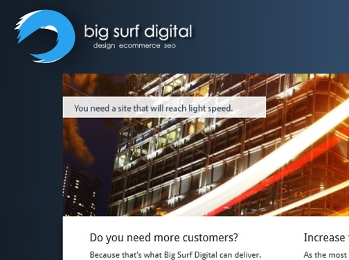 http://www.bigsurfdigital.co.uk website