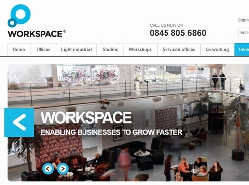 http://www.workspace.co.uk website