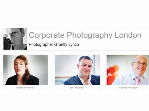 http://www.corporatephotographylondon.com website