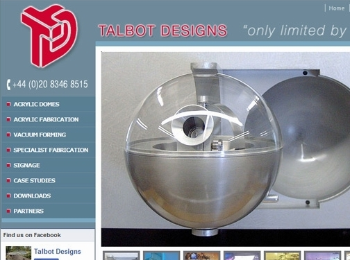 http://www.talbotdesigns.co.uk website