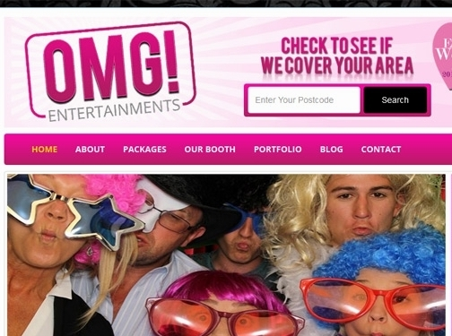 https://www.omg-entertainments.co.uk/ website