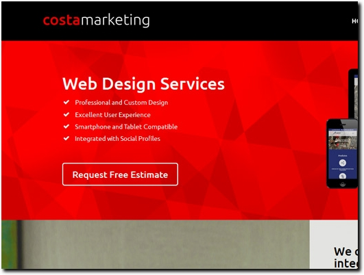 http://www.costamarketing.co.uk/ website
