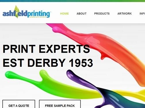 https://www.ashfieldprinting.co.uk/ website