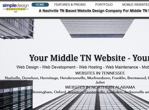 https://www.simpledesignwebsites.com/ website