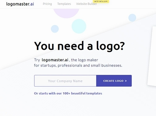 https://logomaster.ai/ website