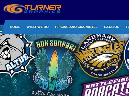 https://turnergraphics.com/ website