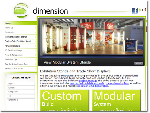 Exhibition Stand Hire Newcastle : Website directory of design creative related websites